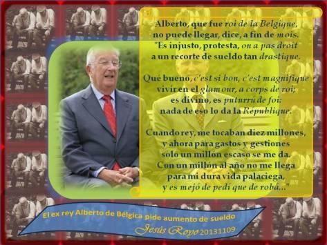 20131109 El ex Rey Alberto...