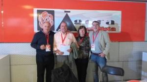 stand Ágora Socialista en el XIII Congreso del PSC